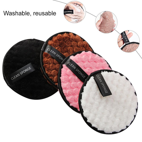 Rewashable XL Make Up Remover Pad | Bamboo Fibre + Cotton