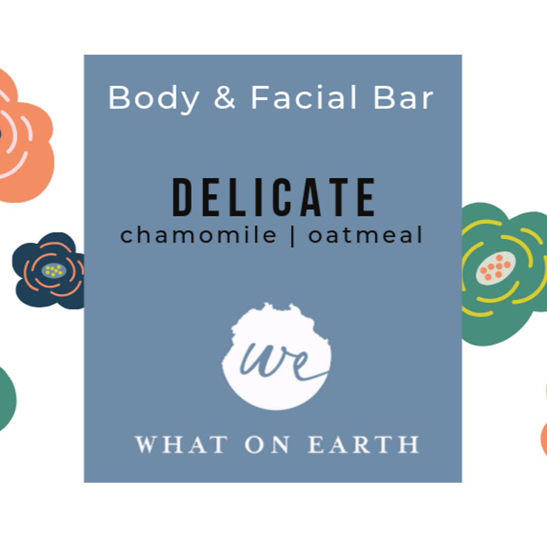 Delicate | Body and Facial Bar | Extra-Sensitive Skin | Unscented