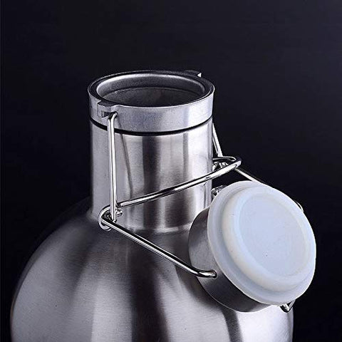 Stainless Steel double-walled Container & FREE Refill 1.9L