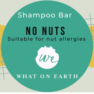 No Nuts Shampoo Bar- Nut free