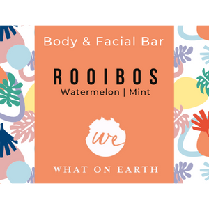 Rooibos Body and Facial Bar | Red French Clay | Colloidal Oatmeal