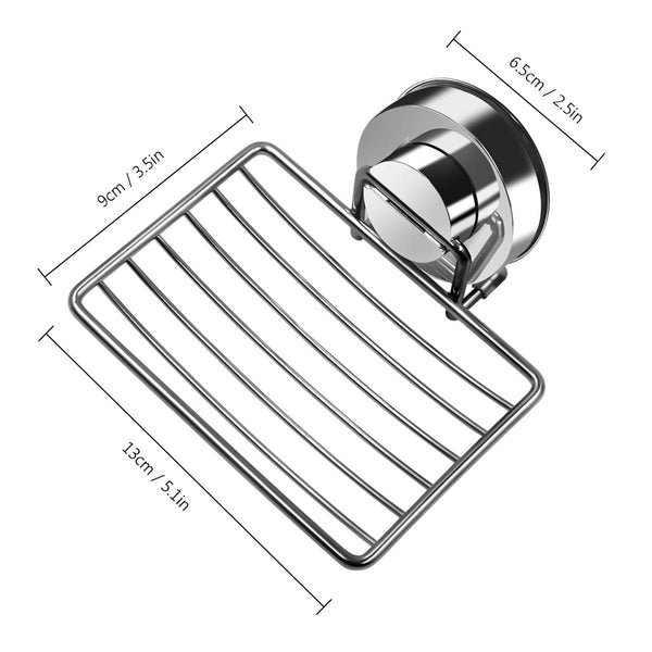 Suction Cup Soap Dish | Stainless Steel