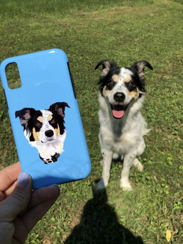 Dog and the Custom Photo Case
