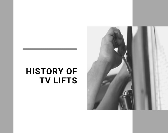 History of Tv Lifts