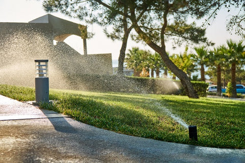 Weatherproof linear actuators are utilized in a number of the garden automation