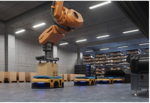 Table lifts are using in warehouse logistics and service
