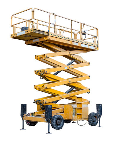 Photo of a scissor lifts