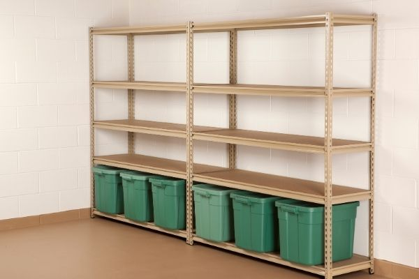 Simple Wooden Shelving