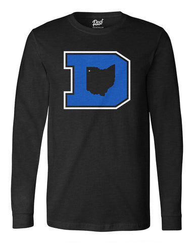 Block D Long Sleeve Tee