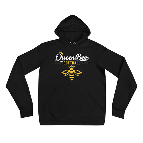 Queen Bee Softball Soft Hoodie