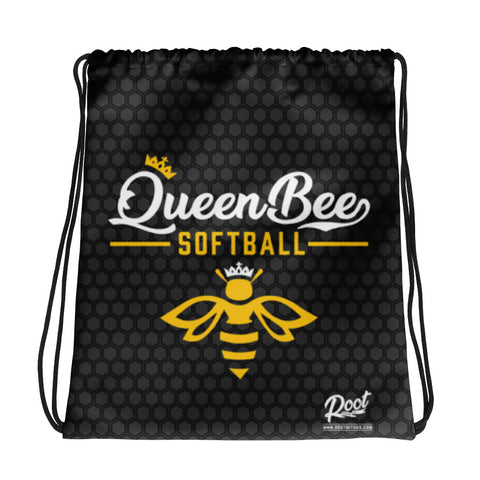 Queen Bee Drawstring Bag