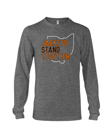 Jackets Stand Together Long Sleeve T-Shirt