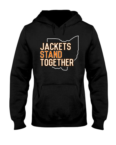 Jackets Stand Together 50/50 Hoodie