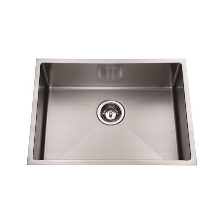 Sink - LimeTree Square Stainless Single Bowl Sink