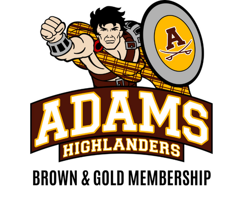 Adams_Boosters_brown_and_gold_membership