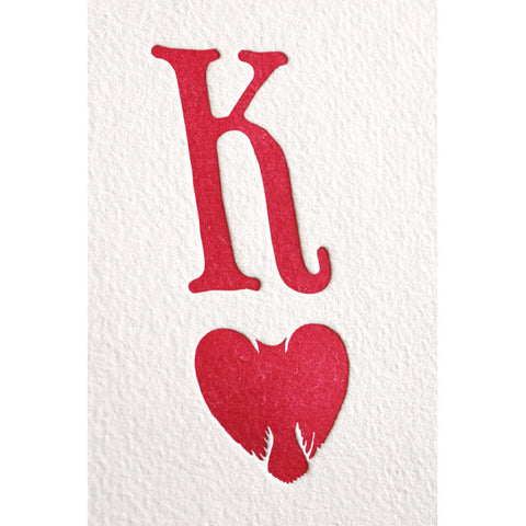 Special Edition Playing Card Prints - King of Hearts