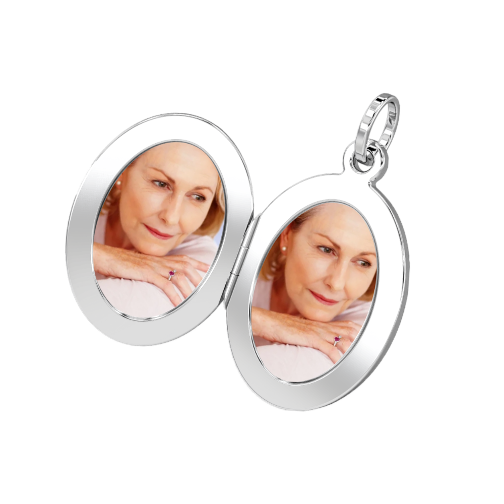 Aura-Star Memory Locket Pendant - Keepsake Jewellery