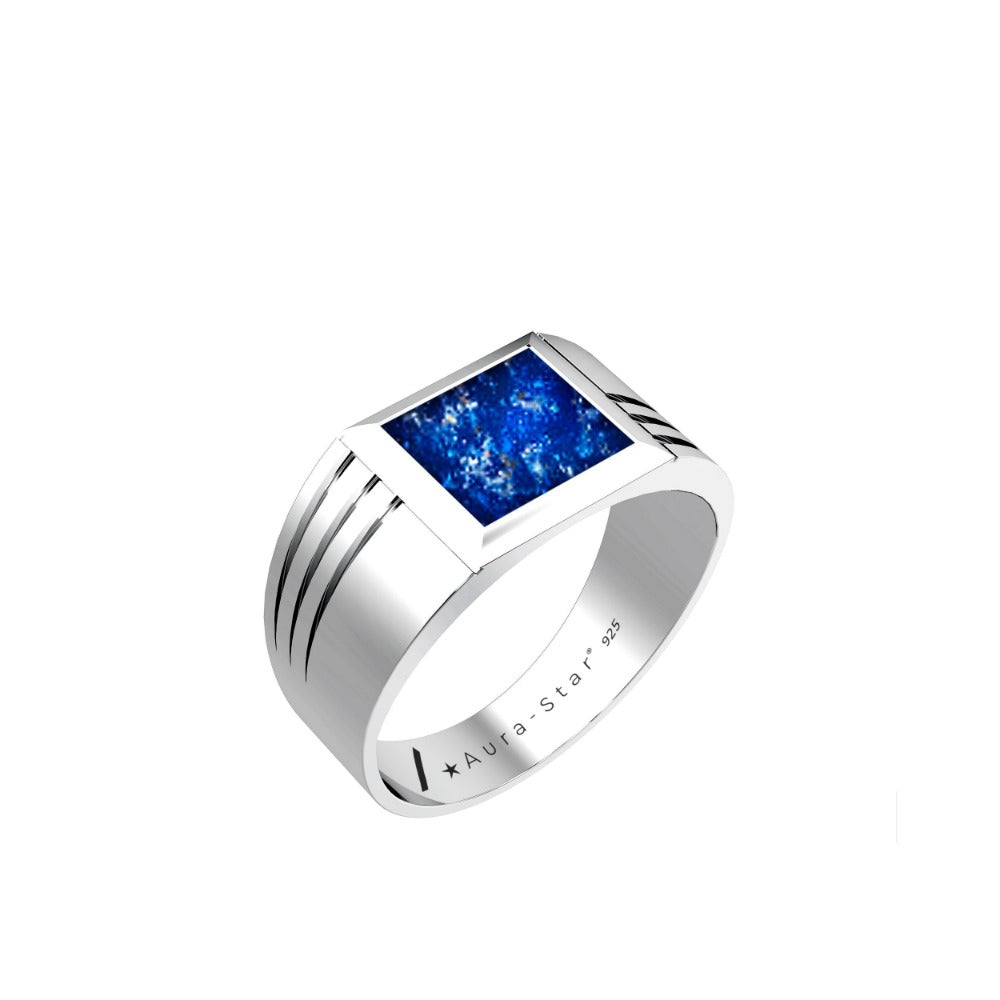 Aura-Star Mens Ring Evoke - Keepsake Jewellery