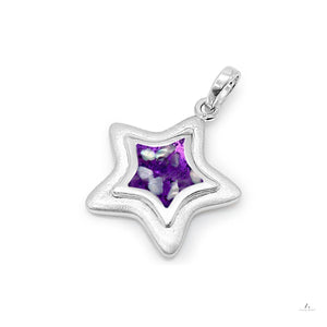 Aura-Star Pendant Shining Star - Keepsake Jewellery