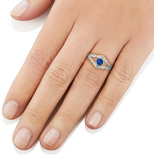 Aura-Star Ring Enshrine - Keepsake Jewellery