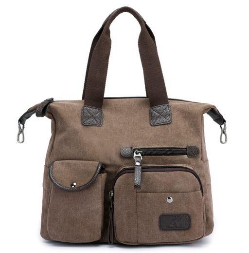 The Locomotive Canvas Shoulder Bag
