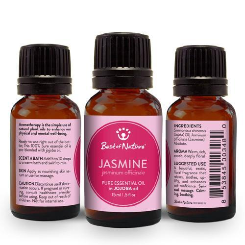 Jasmine Absolute Essential Oil blended with Jojoba