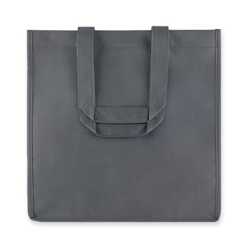 6 Bottle Grey Non Woven Tote by True