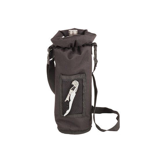 Black Grab & Go Insulated Bottle Carrier