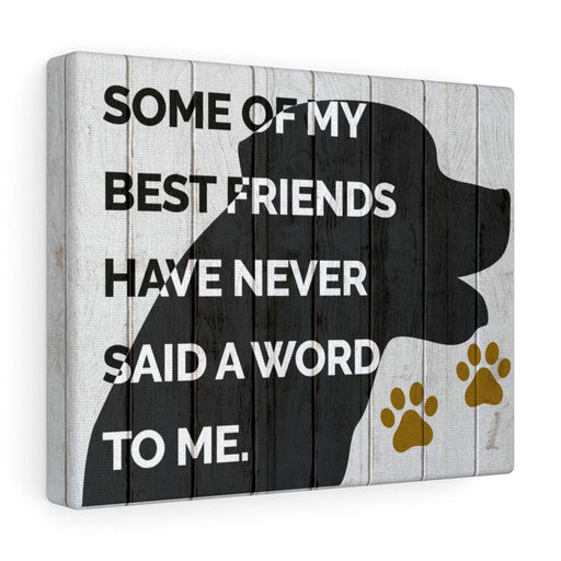 Canvas Wall Art: My Best Friends