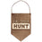 """Eat Sleep Hunt"" Laser Cut Wood Wall Hanging"