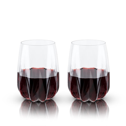 Raye: Crystal Cactus Wine Glasses (VISKI)
