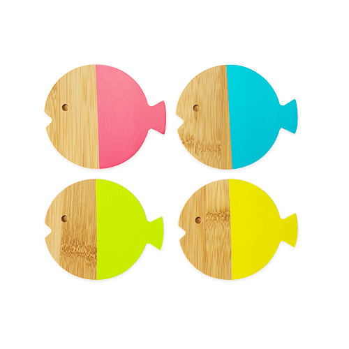 Fish Coasters (set of 4)