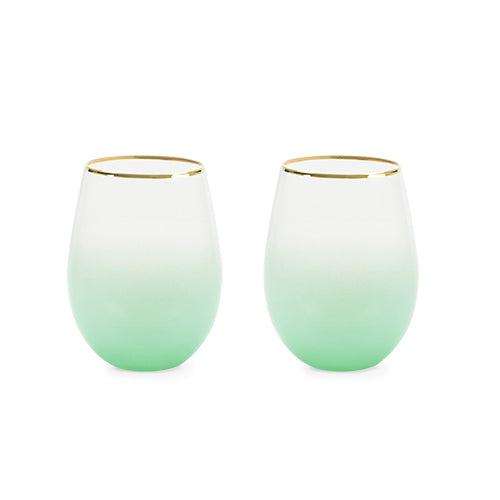 Saguaro Stemless Wine Glasses by Blush®