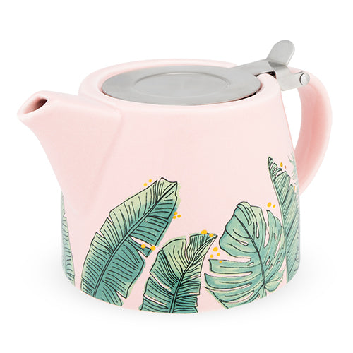 Harper Tropical Teapot & Infuser by Pinky Up