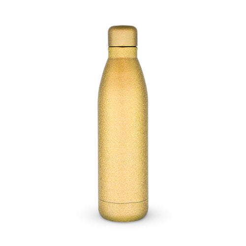 Comet: Gold Glitter Water Bottle by Blush®