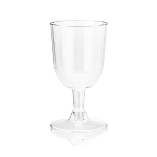 True Party: 6oz Plastic Wine Glass Set - 20 pc