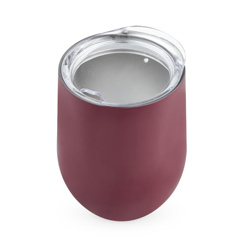 Sip & Go Stemless Wine Tumbler in Berry by True