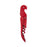 Truetap™: Double-Hinged Corkscrew in Full Red