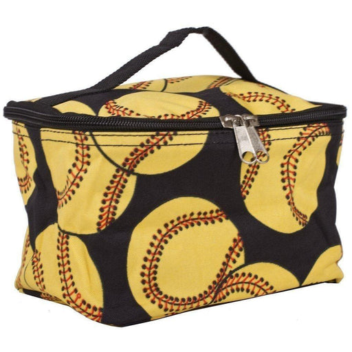 Softball Makeup Bags