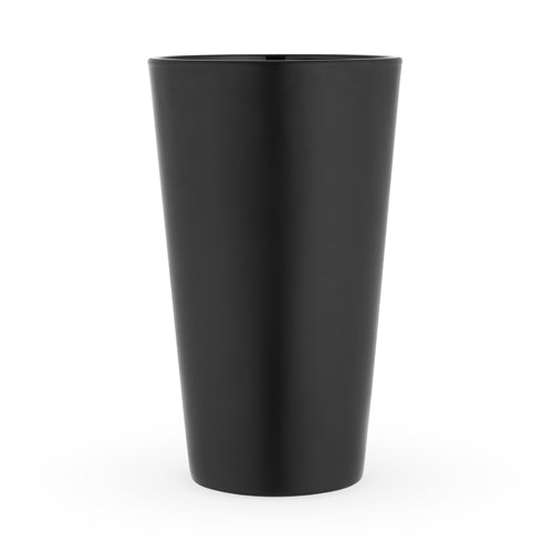 Matte Black Pint Glass by True