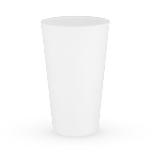 Powder White Pint Glass by True