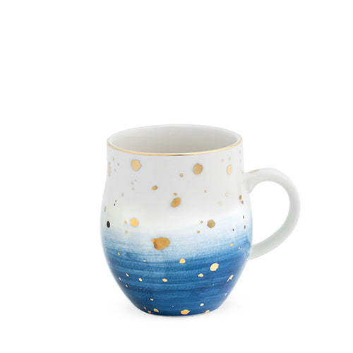 Brynn™ Blue Speckle Ceramic Mug by Pinky Up®