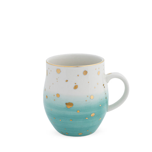 Brynn™ Green Speckle Ceramic Mug by Pinky Up®