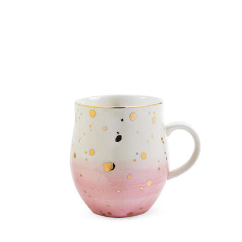 Brynn™ Pink Speckle Ceramic Mug by Pinky Up®