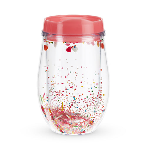 Sprinkles Stemless Wine Tumbler by Blush®