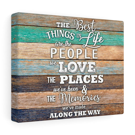 Canvas Wall Art: Best Things in Life