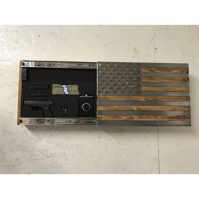 Freedom Cabinet Slider with Invisible RFID Lock and key cards