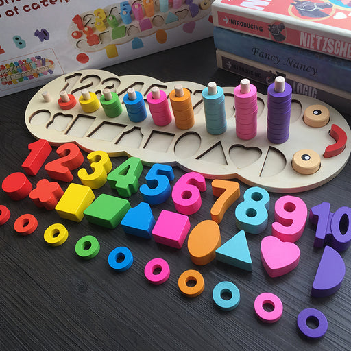 Wooden Counting Set For Children