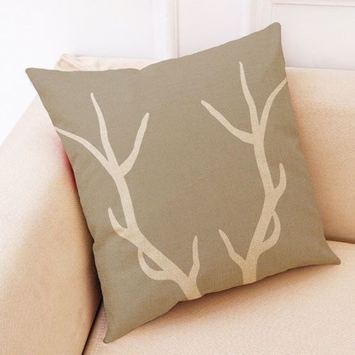 Antler Pillow Covers
