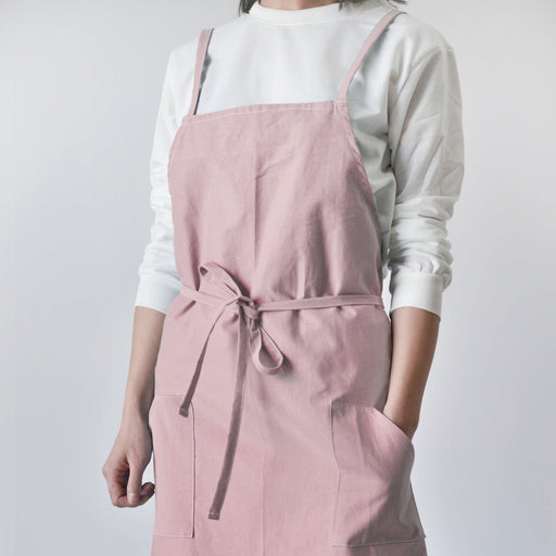 Karuilu Unisex Soft Cotton Linen Apron for Adults,